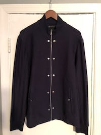 INC navy blue zip up size L  Washington, 20002