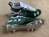 NEW Under Armour Spotlight MC size 13 Forrest Green. Lacrosse Football Sykesville, 21784