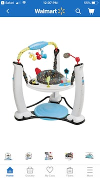 "Evenflo Exersaucer Jump & Learn ""Jam Session"" Mississauga, L5N 4S4"