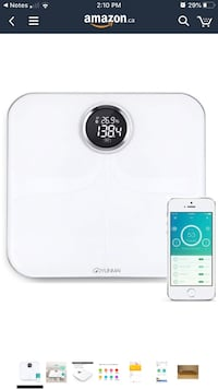Yunmai Wireless Bluetooth Smart Scale Weight Body- BMI - IOS & Android Toronto, M5V 1X1