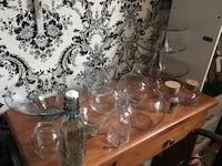 clear glass decanter with drinking glasses Winnipeg, R2C 4J1