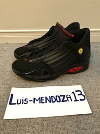 Jordan 14s. From 2011. Size 9. Worn only once. No trades  Toronto, M6E 4E1