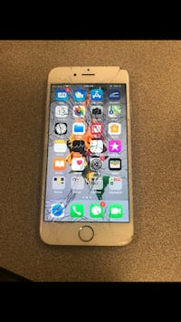 iPhone 6 cracked screen but works perfectly McAllen, 78504