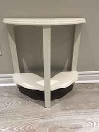 Cute vintage wooden table painted white Oakville, L6H 6E8