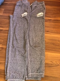 Girls 12,14 gently used roots salt and pepper pants .
