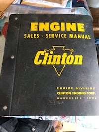 Clinton engine factory manual Rotterdam