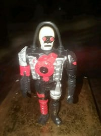 VINTAGE 5IN CRASH DUMMY ACTION FIGURE BY TYCO 1992