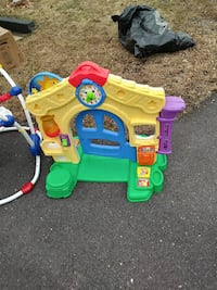 toddler's blue, yellow, and green plastic house toy Upper Marlboro, 20772