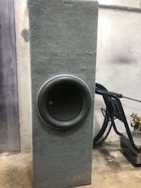 Subwoofer and amp JL audio  Stamford, 06907
