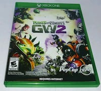 Xbox One Plants Vs Zombies GW2 case Houston, 77081