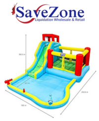 New- Deluxe Inflatable Water Slide Park - Heavy-Duty Nylon Bounce Hous Mississauga