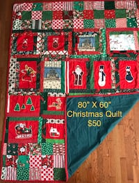 Homemade Christmas Quilt 3170 km
