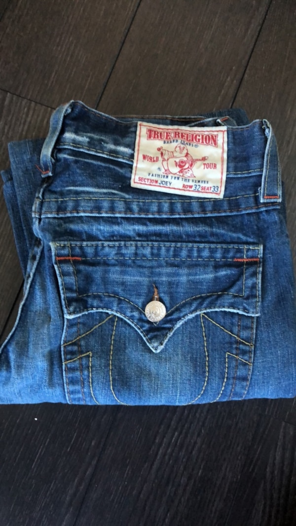 Blue true religion denim bottoms