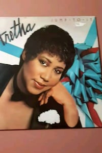"Aretha Franklin ""Jump to it"" vinyl album La Plata, 20646"