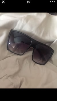 black framed sunglasses with black lens Tracy, 95377