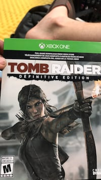 Xbox One Tomb Raider game case Florissant, 63031