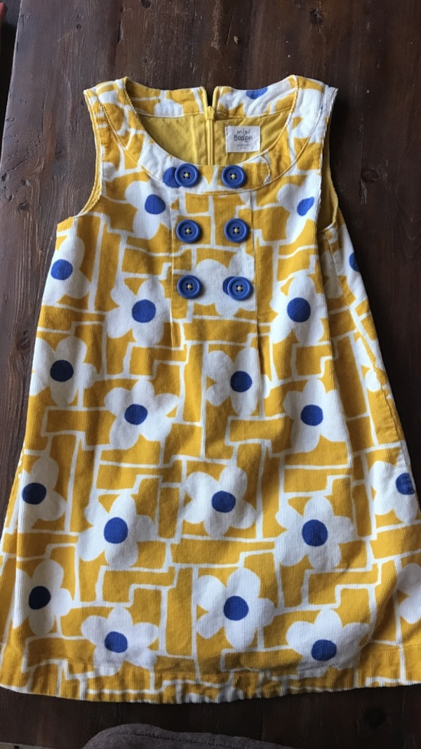 4318e9f18 Used Mini Boden girls dress size 4-5 for sale in San Diego - letgo