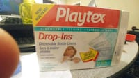 Brand new Playtex disposable bottle liners Toronto, M9W 4G2