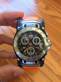 Tissot Men's Nicky Hayden T-Race Limited Edition Orange Band Toronto, M5V 1K1