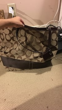 Huge COACH beach bag .... brand new never used.  Perfect condition