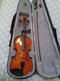 Violin with case, bow, stand and rosin Chester, 21619