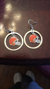 Cleveland Brown earrings  Hamilton, L8H 2R6