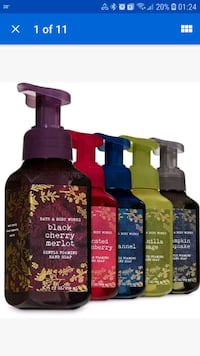 Different Scents of Bath & Body Works Hand Soaps Cookeville, 38501