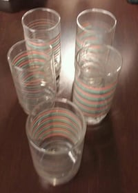 5 Vintage Glasses Mobile, 36693