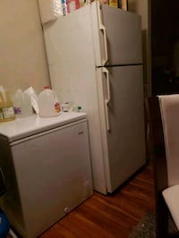 gray top-mount refrigerator Hyattsville