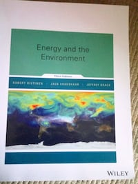 Energy and the Environment. Third edition Toronto, M6A 3A7