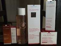 Clarins skin care /not $1 Means negotiable(received as a gift) Vancouver, V5S 4P6