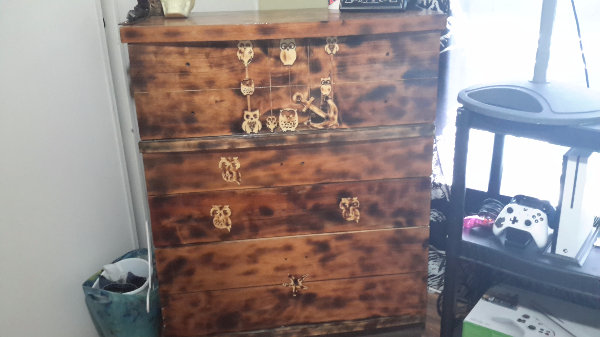 Used Brown Wooden Highboy Dresser For Sale In Wyoming Mi Usa Letgo