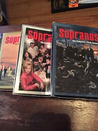 The sopranos third four and five complete season