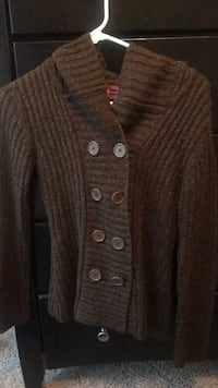 brown button-up cardigan Cary, 27513