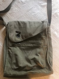 Army Green GUESS backpack/Duffle bag