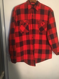 Red and black plaid dress shirt Mobile, 36618