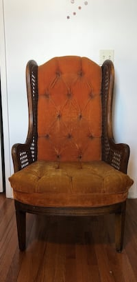 brown wooden framed brown padded armchair Fresno, 93721