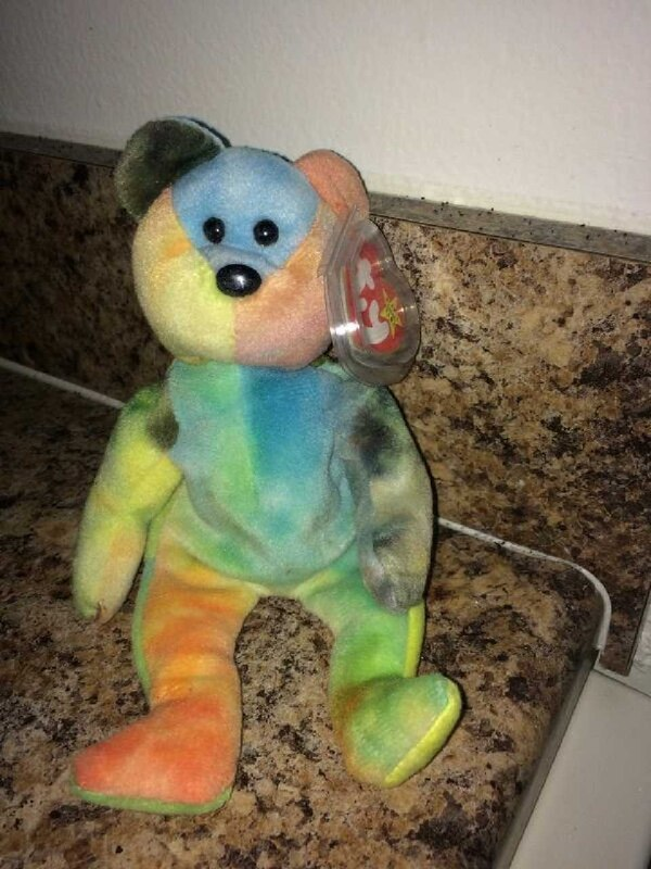 Used Rare Garcia Beanie Baby Style 4051 for sale in Milford - letgo c4d9d4a9d21