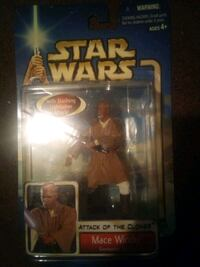 Mace windu action figure from attack of the clones