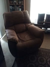 brown leather recliner Austin, 78758