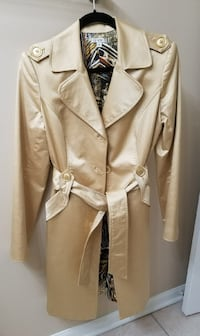 Gold Cache trench coat Chicago, 60631