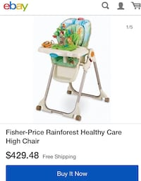 Baby High Chair from Fisher Price - Good condition 紐約, 11358