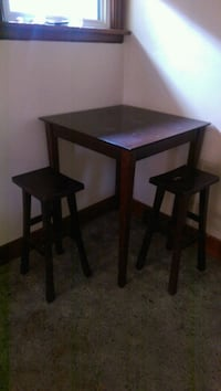 two brown wooden side tables Saskatoon, S7L 0W1