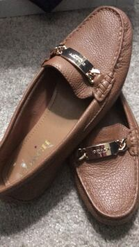 pair of brown leather loafers Rockville, 20850