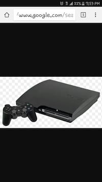 PS3 120 gb Santa Cruz, 95062