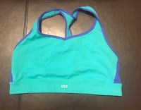 Victoria's secret sports bra large teal and blue Fairmont, 26554