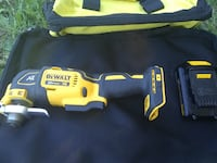 20MAX Dewalt Multi-Tool And Battery With Tool Bag! NO CHARGER! Yuma