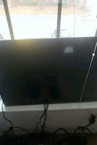 black flat screen TV with remote Norfolk, 23505