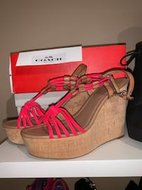 Brand new Coach Wedge Sandals (7.5) Milton, L9T 4K1
