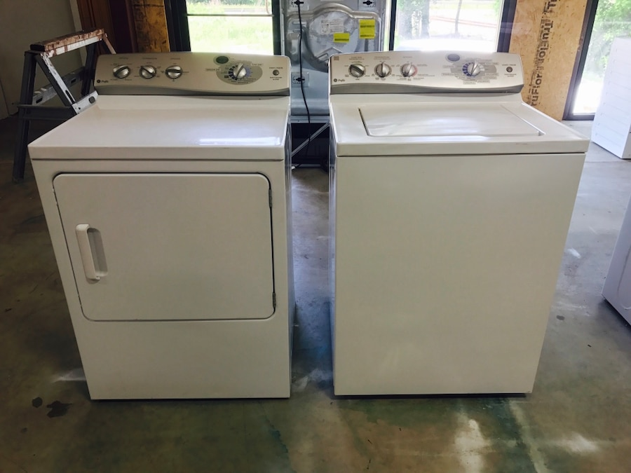 Used GE Profile 41 Cu Ft Super Colossal Top Load Washer GE